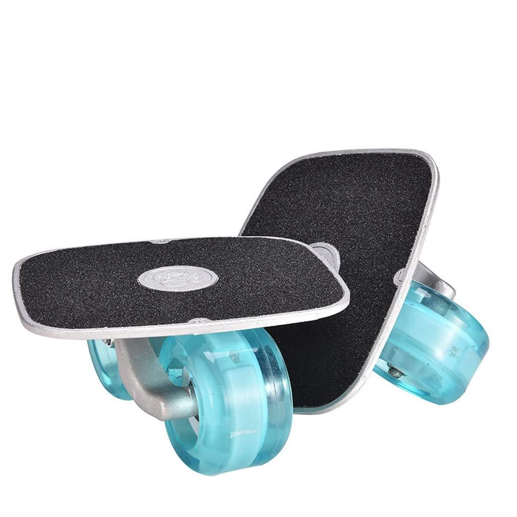 Las piernas al Mismo Tiempo, ZCR Freeline Patines DriftSkate con aleaci/ón de Aluminio del Pedal de la PU de Flash Ruedas Puedan ejercer Armas la Cintura