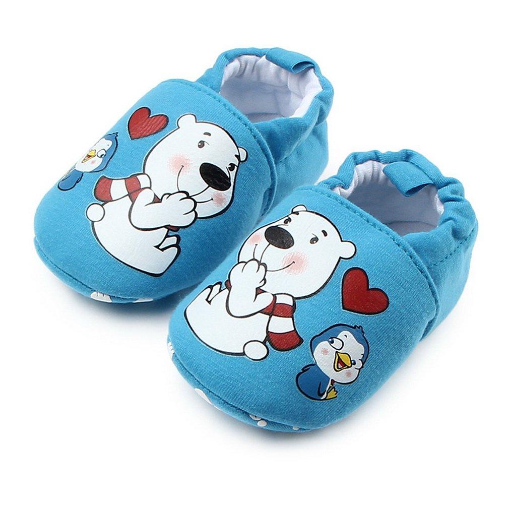 Xiang Ru Enfant B/éb/é Chaussure Pantoufles de Maison Design Cartoon Mignon Hiver Chaud