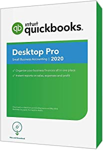 Intuit QuickBooks Desktop Pro 2020, Disc & Download
