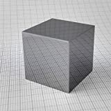 1 inch 25.4mm POLISHED Beryllium Metal Cube 99.94% 30grams Full Density With COA