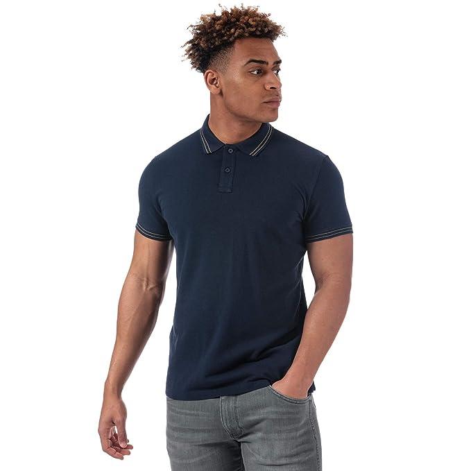 Wrangler - Polo - para Hombre Azul Marino S: Amazon.es: Ropa y ...
