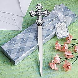 Cross design letter favors, 48