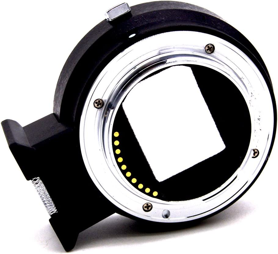 MeterMall Electronics for Veledge Auto Focus EOS EF Lens E//EF Mount Adapter for A9 A7R3 A7II A7