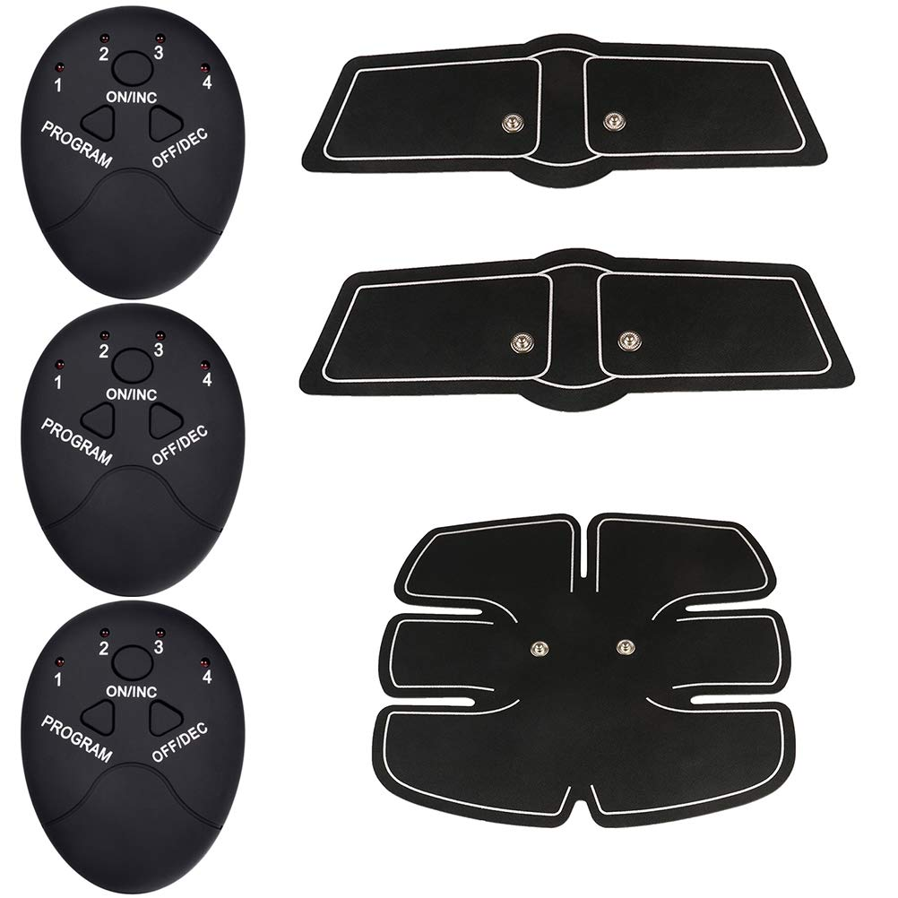 Smart Abs Stimulator Abdominal Muscle Training Pad Ems Body Fit Slimming/'Trainer