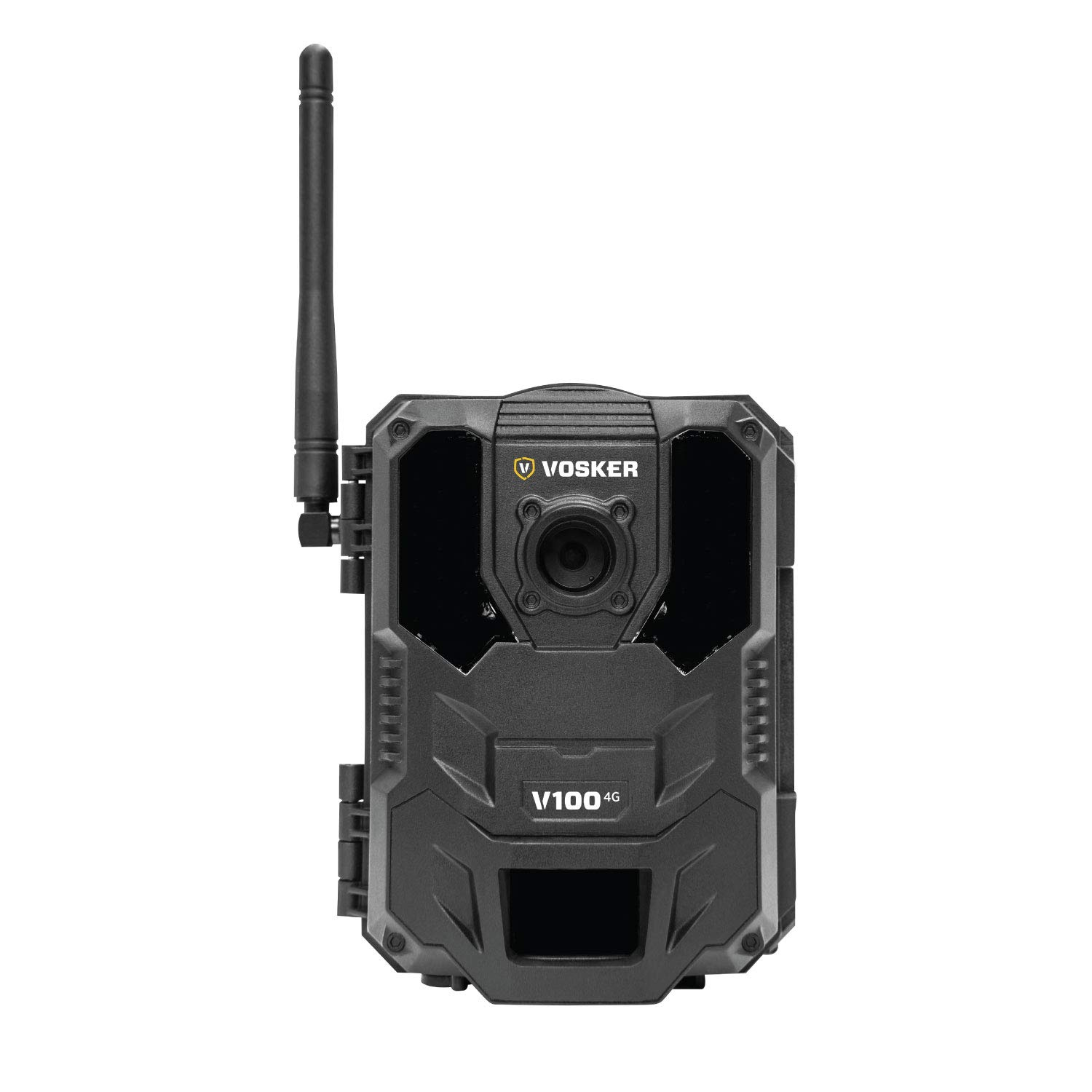 Vosker V100 4G Outdoor Security Camera (Wireless) Weatherproof Protection   No Wi-Fi Required   Battery Operated   Day and Night Vision Surveillance Camera   Free Data Plan Available by Vosker