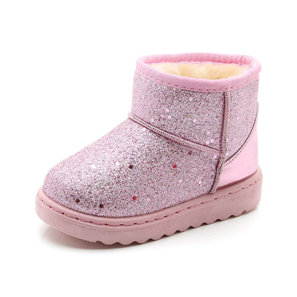 Topcloud Girls Boys Outdoor Snow Boots Warm Anti-Slip Soft Winter Boots Boots