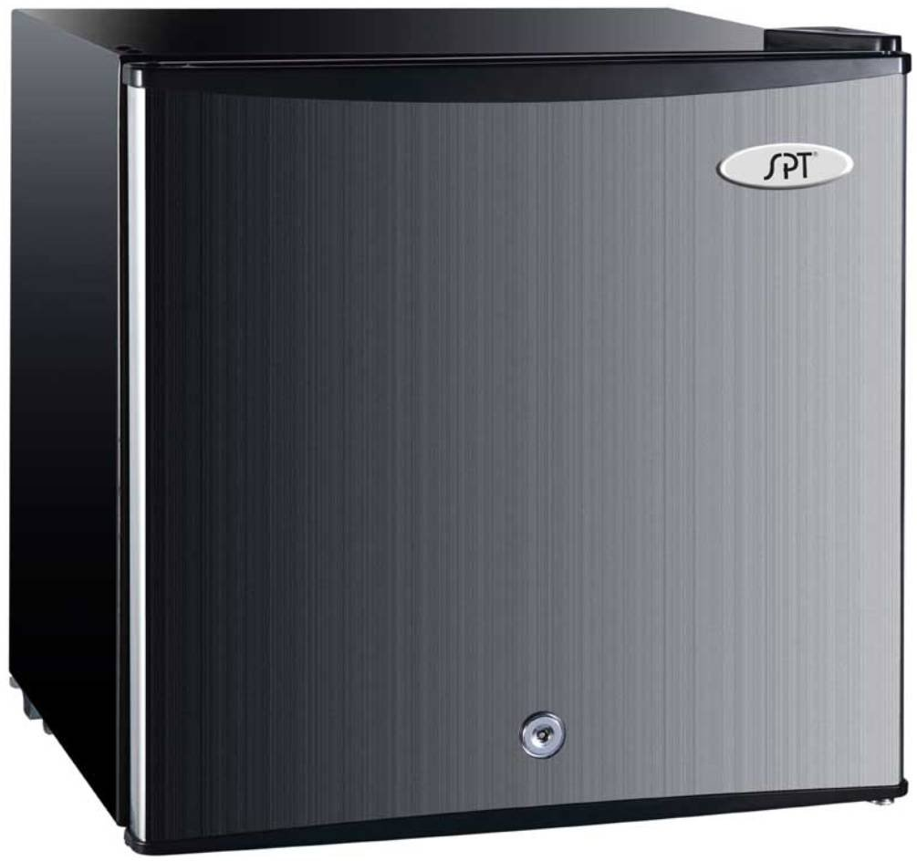 SPT UF-114SS Upright Freezer, Stainless Steel, 1.1 Cubic Feet