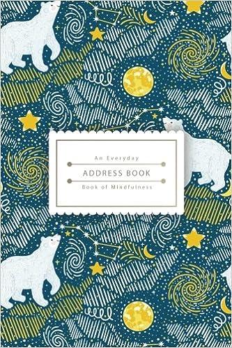 4 an everyday address book polar bear in galaxy best address book