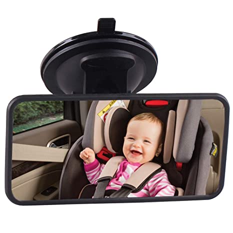 Useful Infant Child Toddler Rear Safety View  Car Seat Cover Baby Mirror Back