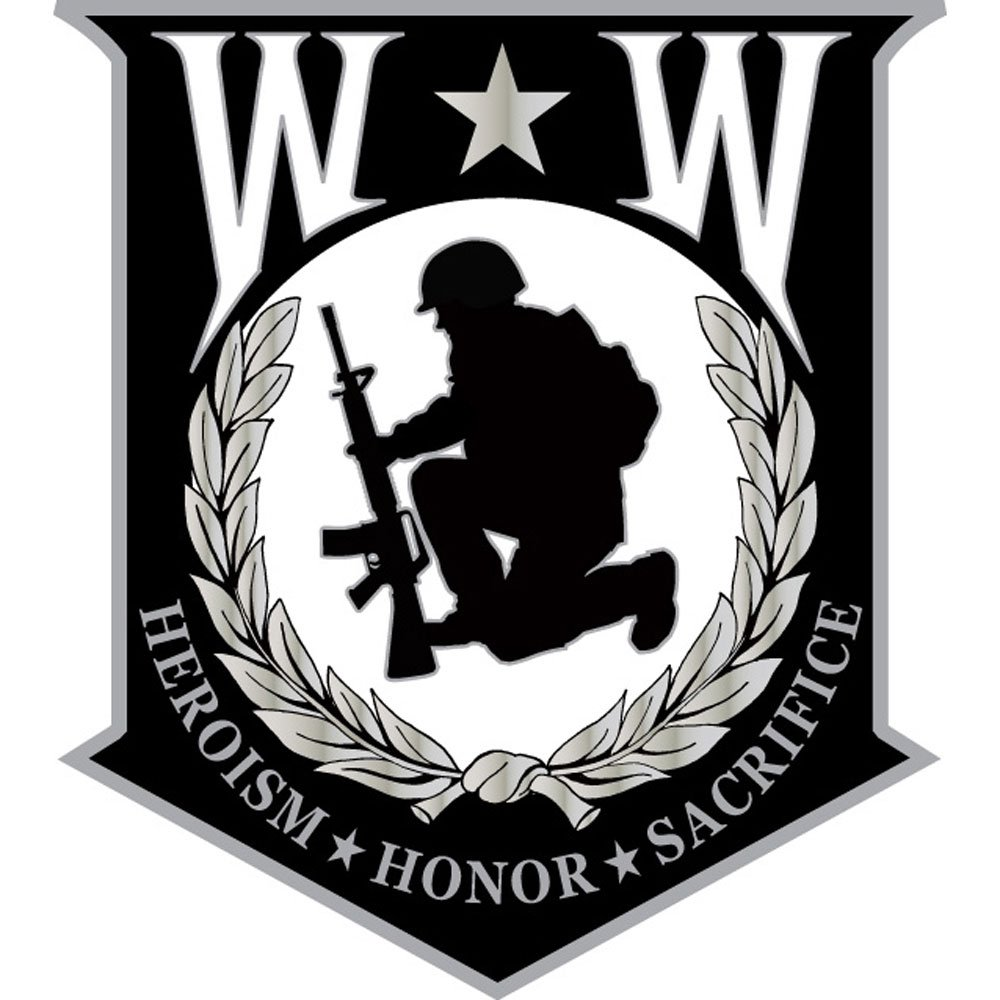 Amazon.com: Wounded Warrior Shield Pin Military Collectibles for Men ...