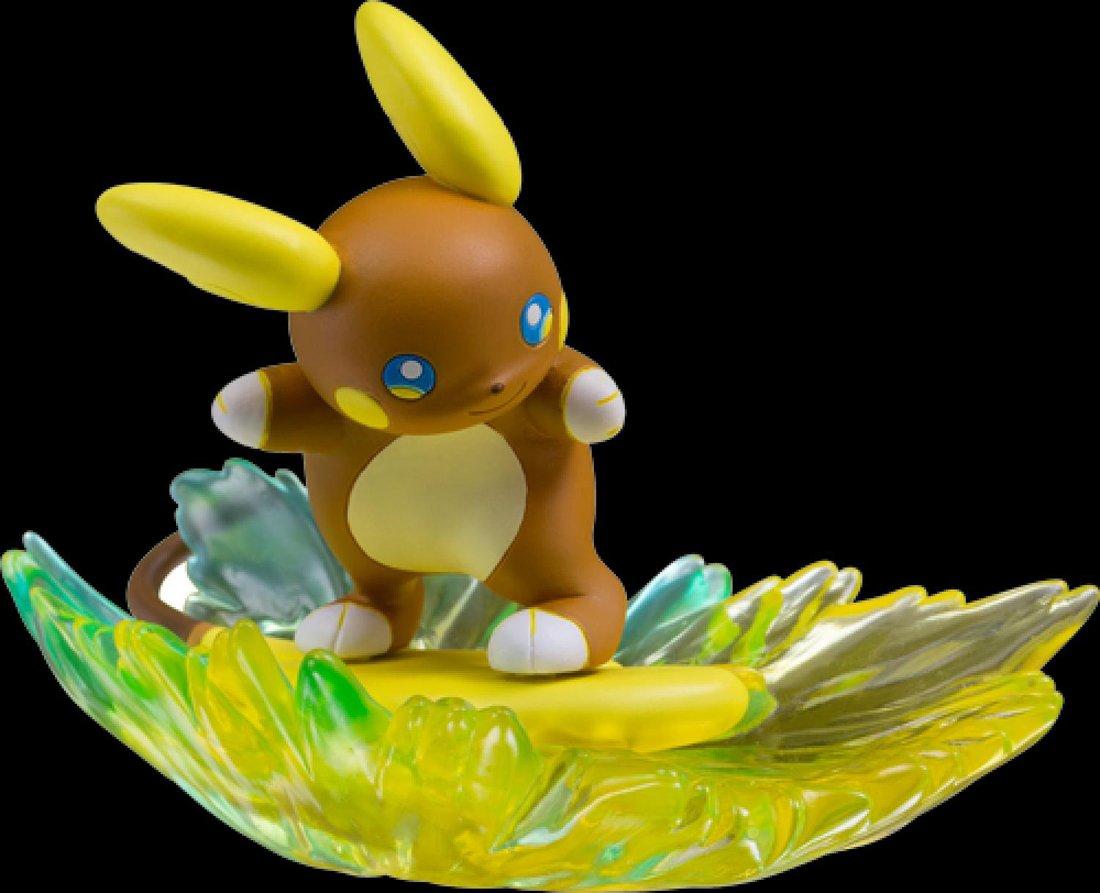 Takaratomy Pokemon Sun /& Moon EZW-02 Alolan Raichu Z-Move Stoked Sparksurfer Lightning Surf Ride Action Figure JAPAX