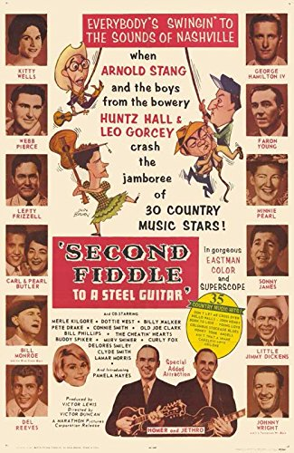Second Fiddle to a Steel Guitar Movie Poster