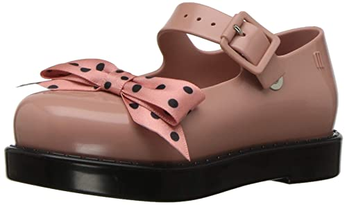 98fe65265339 Mini Melissa Kids Maggie Bow Mary Jane Flat  Amazon.co.uk  Shoes   Bags