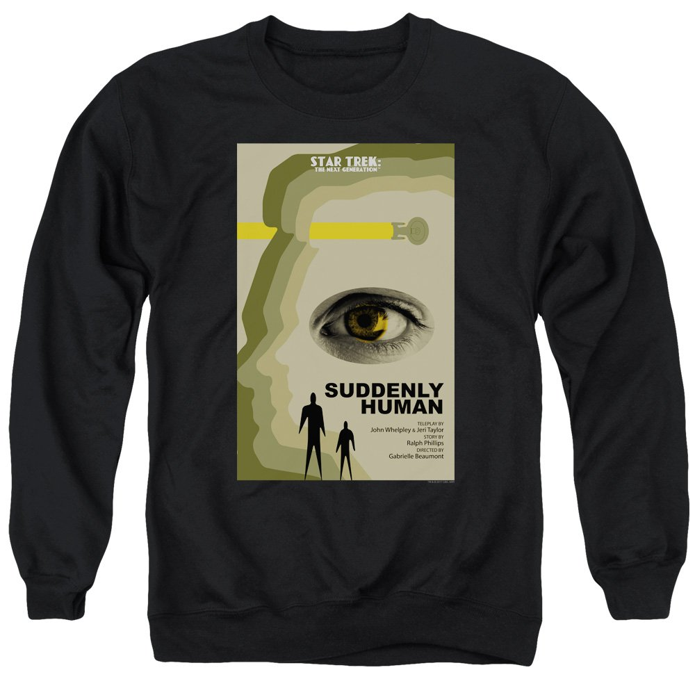 Star Trek - - Männer TNG Staffel 4 Episode 4 Pullover