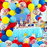 Circus Party Supplies Balloons Arch Kit - 80 Pack