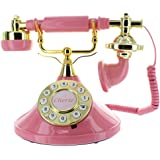Mybelle Cherie Deluxe Telephone (Vintage Rose Pink)