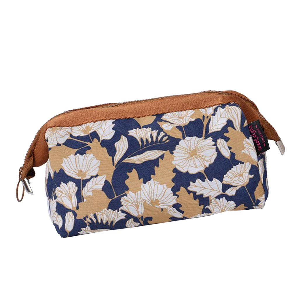 16499cef6598 Amazon.com : SM SunniMix Large Makeup Bag Toiletry Bag for Women ...