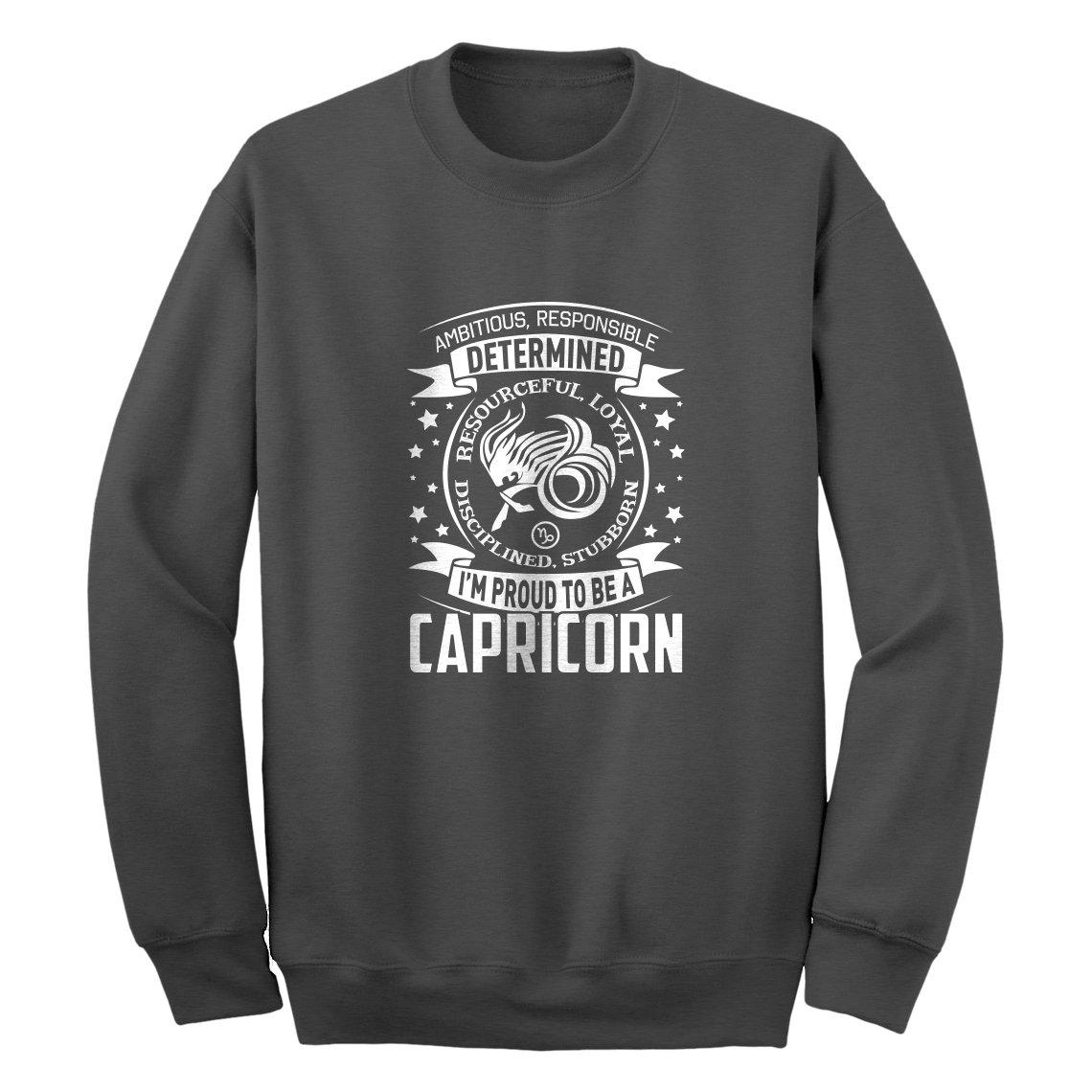 Indica Plateau Capricorn Zodiac Astrology Unisex Adult Sweatshirt