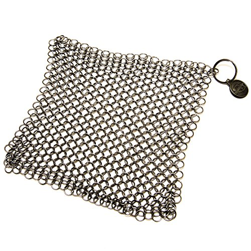 ScrubberPro Scrubber Solution for Seasoned Cast Iron XLarge, 8x6 Inch, from