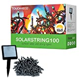 SOLARSTRING100 Outdoor Patio Solar String Decorative Holiday Lights (1, Multicolor)