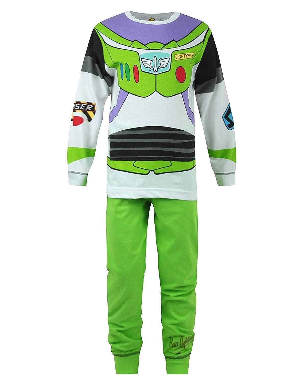 Boys Toy Story Buzz Lightyear Glow In The Dark Snuggle Fit Pyjamas ...