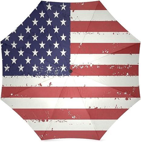 Rojo, Blanco y azul Star diseño de rayas Estados Unidos bandera de ...