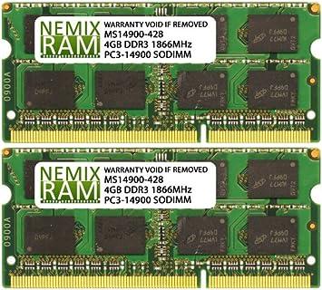 2x4GB NEW 8GB DDR3-1866MHz PC3-14900 Desktop RAM Memory for DESKTOP PC