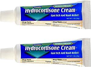 Natureplex Hydrocortisone 1% Cream, 1 Oz (Pack of 2)
