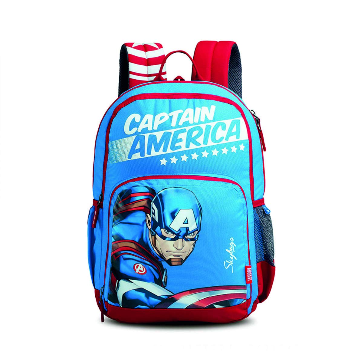 Skybags SB Marvel Champ Cap-AM 01 27 Ltrs Blue Casual