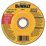 DEWALT DW4514B5 4-1/2-Inch by 1/4-Inch by 7/8-Inch Metal Grinding Wheel - 20 Pack