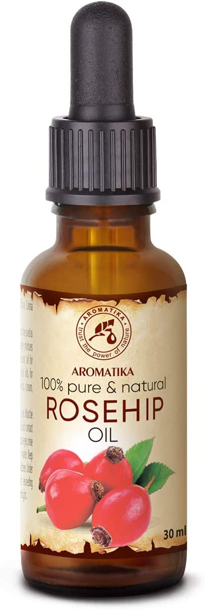 Aceite Rosa Mosqueta Pura 30ml para Corporal - Cara- Rosa Canina Fruit Oil - Chile - 100% Natural - Rosehip Oil