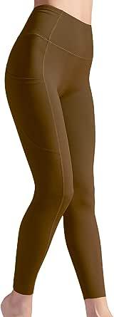 LISUEYNE Women's Yoga Leggings Pants Stretch High Waist Leggings with Pocket Tummy Control Workout Running Pants Women
