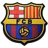 Fc Barcelona-Fc BARCELONE-Football à Football Iron on Patch brodé Emblème Logo brodé