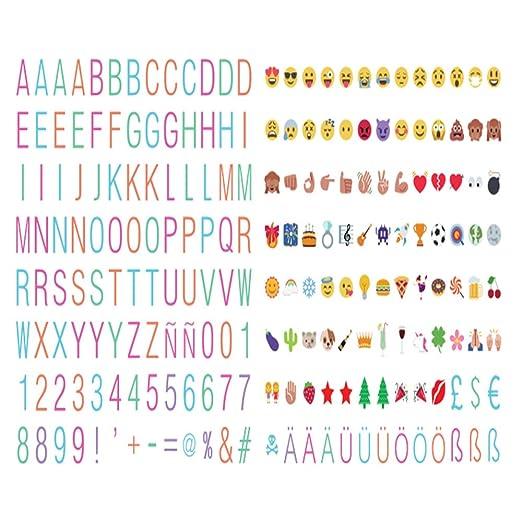 208 color fina tipo de letra letras ~ number ~ símbolos y ...