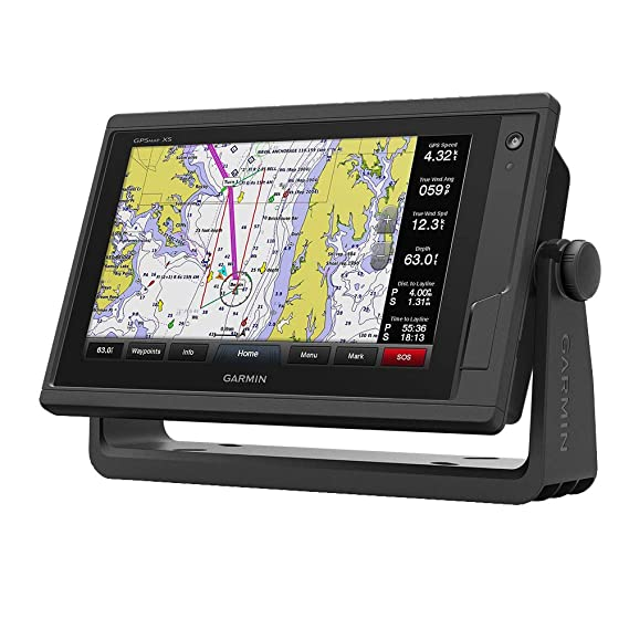 Garmin GPSMAP 942xs, ClearVu and Traditional Chirp Sonar with Mapping, on