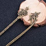 Duufin 22 Pieces Hair Sticks Vintage Bronze Chinese