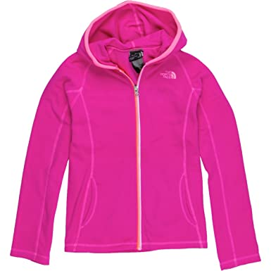 5a430bfe7eb Amazon.com  The North Face Girls  Glacier Full Zip Hoodie (Little ...