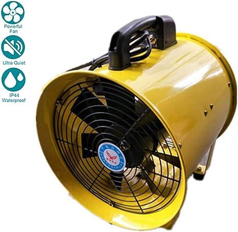 300mm Extractor Ventilador Industrial Portátil Extractor de Aire Eléctrico Ventilador Comercial, Volumen de Aire: 62m³ / min, 220V-240V: Amazon.es: Deportes y aire libre