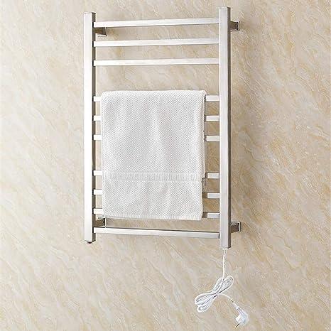 LXDDP Calentador Toallas, Calentador Toallas Acero Inoxidable montado en la Pared para baño en el hogar, Calentador Toallas eléctrico para baño en el hogar Hotel, Roundtube: Amazon.es: Deportes y aire libre