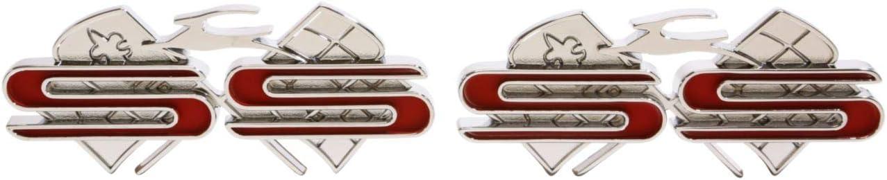 """1961 Impala /""""SS/"""" Trim Parts 2127 Rear Quarter Emblem"""