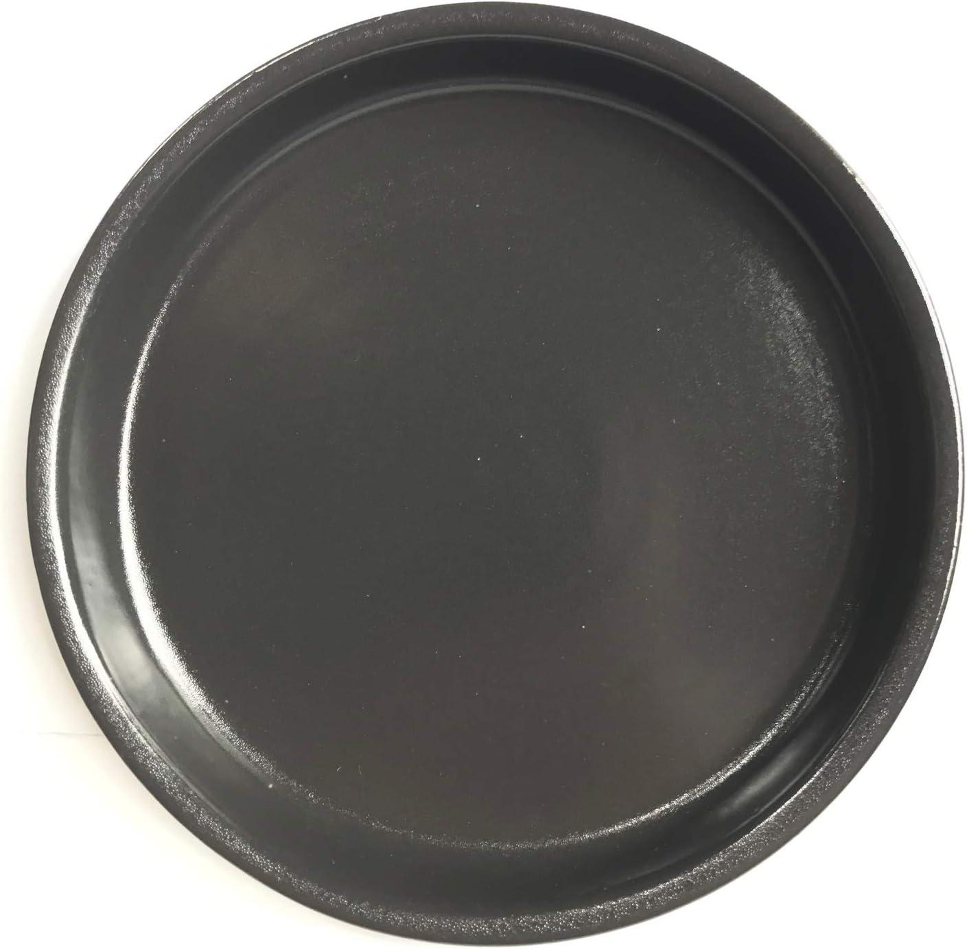 anthrazit aus Steinzeug hochwertige Keramik K/&K Unterschale//Untersetzer rund f/ür Blumentopf Venus II ohne und mit Henkel 28x20 cm /Ø 23 cm