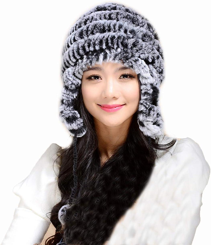 Winter Fur Hat Genuine Rex...