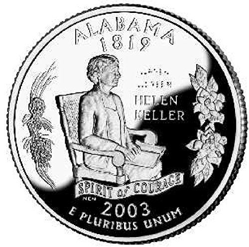 2003 S Alabama State Proof Quarter PF1 US Mint