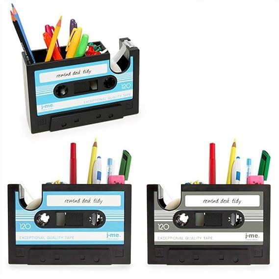 Soporte para el lápiz organizador de escritorio Retro cinta de ...