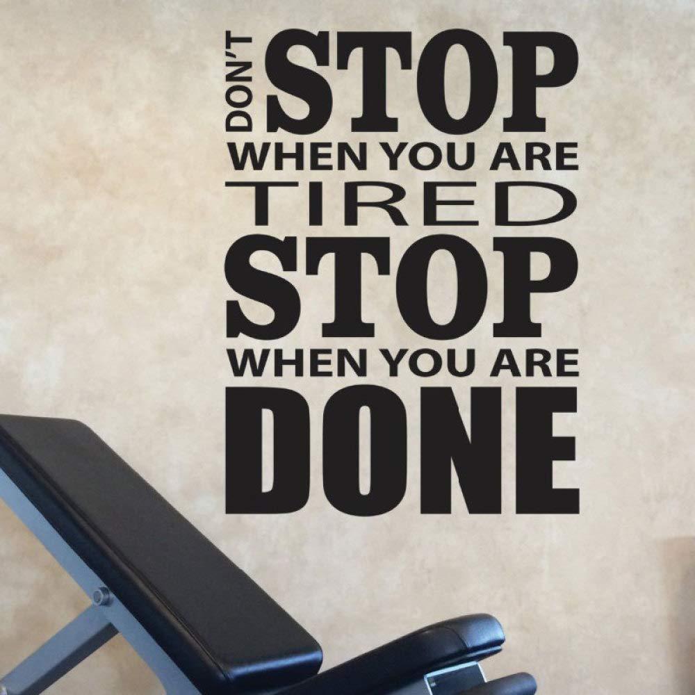 HNXDP Deténgase cuando esté cansado Deténgase cuando haya ...