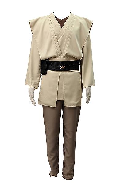 De-Cos Cosplay Costume Jedi Master OBI-WAN Kenobi Outfit Set ...