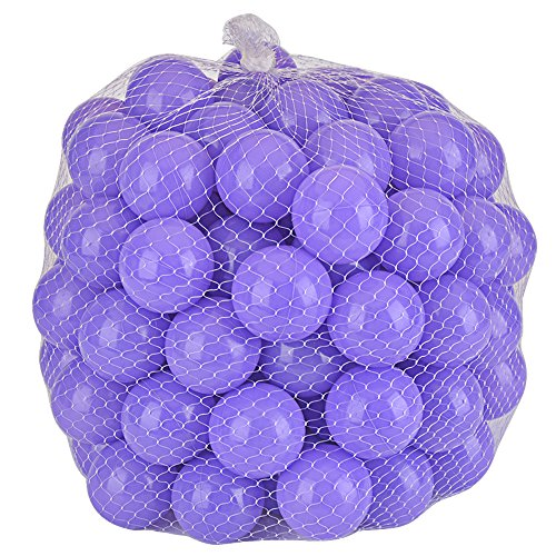 Purple Squishy Ball : Lightaling 100pcs Ocean Balls Soft Plastic Pit Balls Purple Toys Games Toys Accessories