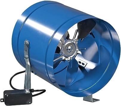 Coaxial de metal tubo de ventilador - (5302) ø203mm: Amazon.es: Bricolaje y herramientas