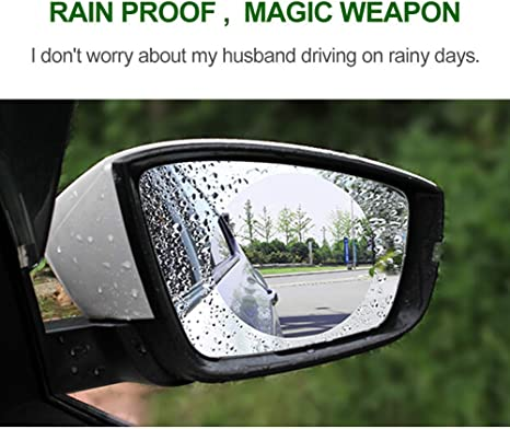Fengyuanhong Car Rear Side Mirror Guard Rearview Mirror Rain Shade