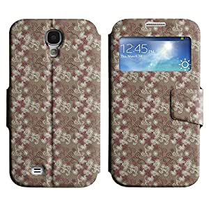Pulsar Slim-Leather Series Funda para Samsung Galaxy S4 , Cute Pattern